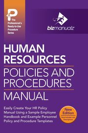Human Resources Policies and Procedures Manual,