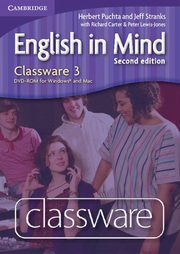 English in Mind 3 Classware DVD, Puchta Herbert, Stranks Jeff