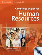 Cambridge English for Human Resources Student's Book + CD, Sandford George