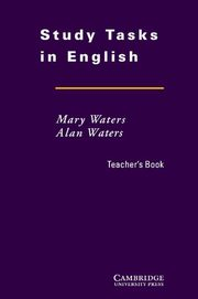 Study Tasks in English Teacher's Book, Waters Mary, Waters Alan