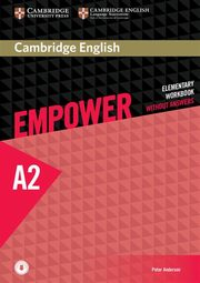 Cambridge English Empower Elementary Workbook, Anderson Peter