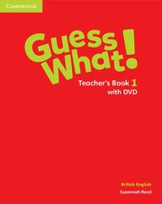 Guess What! 1 Teacher's Book with DVD, Reed Susannah