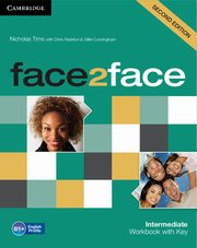 face2face Intermediate Workbook with Key, Tims Nicholas, Redston Chris