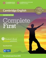 Complete First Student's Book without answers + CD, Brook-Hart Guy
