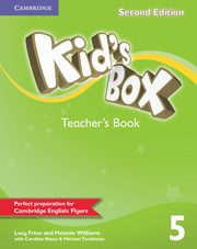 Kid's Box Second Edition 5 Teacher's Book, Lucy Frino , Melanie Williams