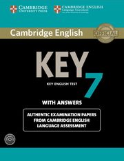 Cambridge English Key 7 Authentic examination papers with answers,