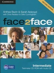 face2face Intermediate Testmaker CD-ROM and Audio CD, Bazin Anthea, Ackroyd Sarah, Redston Chris, Cunningham Gillie