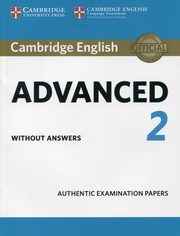 Cambridge English Advanced 2 Student's Book without answers,