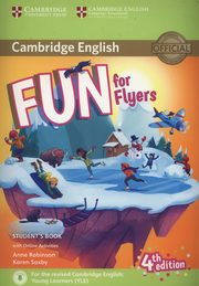 Fun for Flyers Student's Book + Online Activities, Robinson Anne, Saxby Karen