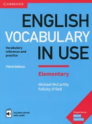 English Vocabulary in Use Elementary with answers and ebook with audio,