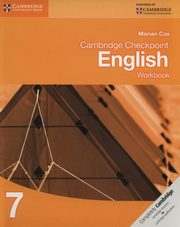 Cambridge Checkpoint English 7 Workbook, Cox Marian