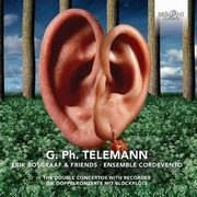 DOUBLE CONCERTOS FOR RECORDER, TELEMANN G.P.