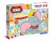 Puzzle 24 Maxi SuperColor Dumbo,
